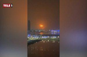 Dubai'de şiddetli patlama!