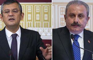 Şentop'tan CHP'li Özel'e 37 gün sonra 2 buçuk sayfalık yanıt