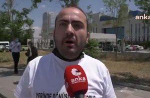 Tozkoparanlılar Danıştay önünde eylemde: Erdoğan'ın sözünü hatırlattılar