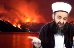 Cübbeli Ahmet'ten yangın açıklaması: Tekbir getirin
