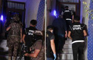 İstanbul'da uyuşturucu satıcılarına operasyon!
