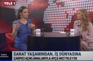 Tiyatro oyuncusu Ayça İnci'den TELE1'de çarpıcı açıklamalar