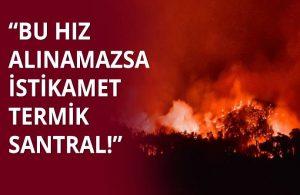 Milas Belediye Başkanı'ndan 'hava müdahalesi' uyarısı: Bu hız alınamazsa istikamet Termik santral!