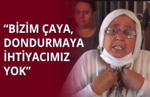 """""""Ekmek teknemiz gitti bizim"""" diyen yurttaştan çay fırlatan Erdoğan'a tepki"""