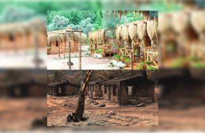 Mandıra Filozofu'nun çekildiği bölge yangında kül oldu