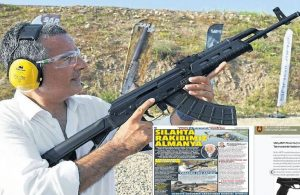 Bildirici'den silahla poz veren Hakan Çelik'e: Gazeteci silahla yan yana gelemez