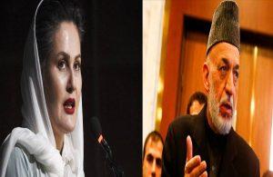 Eski Afgan Cumhurbaşkanı Karzai'ye tepki: Biz sizin kızınız değiliz