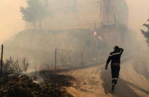 Cezayir'de yangın: 'Ölenlerin sayısı yüzlerce olabilir'