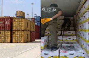 Yine Mersin Limanı yine kokain operasyonu