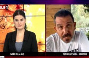 Fatih Portakal TELE1'de anlattı: 'Bu yangını biz söndürdük' derlerse yalan söylerler