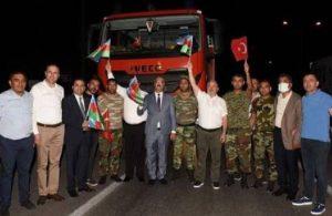 AKP'li başkanlar, yangın söndürmeye giden aracı durdurdu