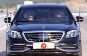 Erdoğan'ın makam aracının ziyaret ettiği ülkelere kargo uçakları ile götürüldüğü ortaya çıktı