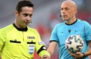 UEFA'dan Halis Özkahya ve Cüneyt Çakır'a görev