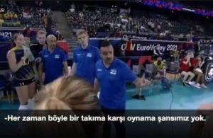 Filenin Sultanları'na karşı oynayan İsveç'in antrenörü: Her zaman böyle bir takıma karşı oynama şansımız yok