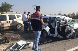 Konya'da patlayıcı yüklü tır kamyon ile çarpıştı: 6 ölü