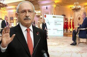 Kılıçdaroğlu'ndan Erdoğan'a prompter tepkisi: Hakaretleri bile promptera yazdırıyorsun