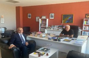 İYİ Partili Ahmet Çelik'ten TELE1'e ziyaret