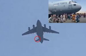 Biden'dan skandal cevap! Taliban'dan kaçarken uçaktan düşen Afganların ailesi konuştu