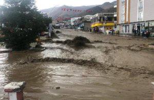 Van'daki sel felaketi sürüyor: Hakkari karayolu kapandı