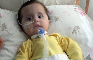 SMA hastası bebek için toplanan bağış kumbarası çalındı!