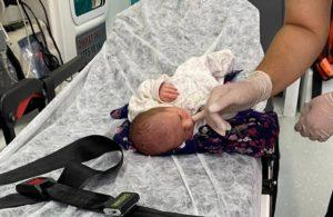 3 günlük bebek, poşet içinde bulundu