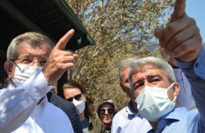 Davutoğlu'ndan Marmaris'e geçmiş olsun ziyareti : Kriz yönetimi bağlamında çıkarılacak önemli dersler var