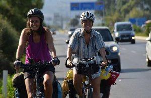 Avusturya'dan Türkiye'ye bisikletle geldiler: Kadınların gücünü gösterdik