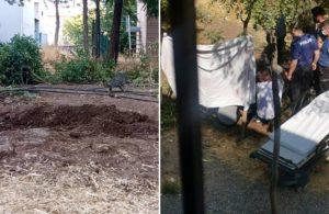 Elektrik çarpan kadını toprağa gömmek isteyen ailenin polislerle 'gerilimi' şaşırttı