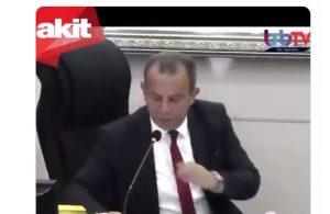 Akit: Tanju Özcan Meclis üyelerine çay fırlatarak saygısızlık yaptı