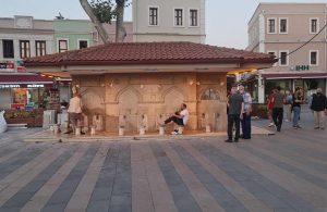 Tarihi şadırvan 'mermer' ile kaplandı: Tepkiler sonrası geri adım