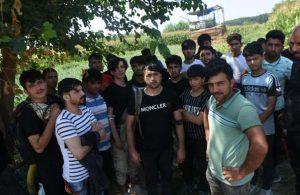 Sosyal medyadaki söylentiye inanan Afgan göçmenler Edirne'ye akın etti