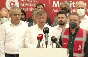 Davutoğlu, Antalya'da konuştu: Halkın zihni bulandırılıyor