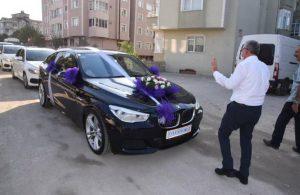 AKP'li başkan düğün konvoyunun önünü kesti: Bahşişi kaptık