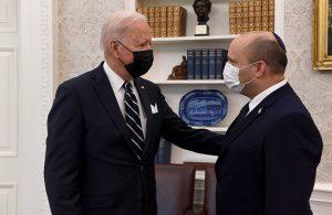 Biden, İsrail Başbakanı Bennett ile görüştü