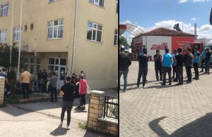 Erdoğan'ın konvoyu yüzünden yardımlar beklemiş