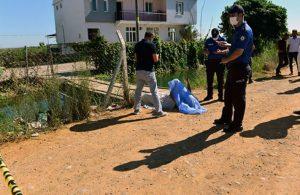 Sulama kanalında çıplak ceset bulundu
