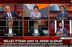 CNN'de TELE1'e yönelik asılsız iddialarda bulunan Daşdemir, gerçekleri duyunca dondu kaldı