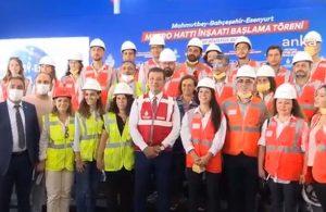 İmamoğlu yeni metro inşaatını duyurdu