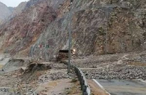 Artvin-Erzurum yolunda heyelan