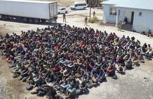 Van'da 264'ü Afganistan, 30'u Pakistan, 6'sı İran uyruklu 300 kaçak göçmen yakalandı
