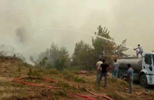 Başkan Esen yangın bölgesinde