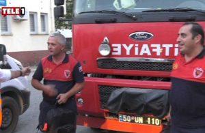 Konyaaltı Belediyesi'nden itfaiyecilere acil yardım çantası