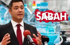 Yandaş Sabah'ın kuyu suyu haberi yalanlandı