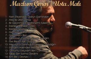 Mazlum Çimen'in 'Usta Malı' adlı albümü bu kez plak olarak raflarda yerini alacak