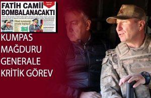 Cami bombalayacak diye 16 yıl hapis yiyen Tuğgeneral, terörle mücadelenin başına getirildi