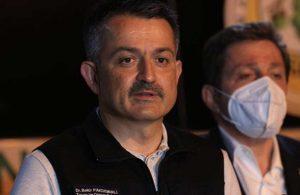 Bakan Bekir Pakdemirli yangında sorumluluğu belediyelere attı