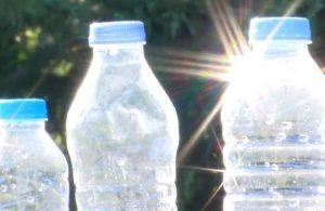 Plastik şişedeki tehlikeye dikkat