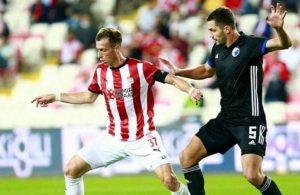 Sivasspor tur şansını zora soktu