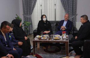 Soylu'dan Altındağ'daki kavgada öldürülen Yalçın'ın ailesine ziyaret