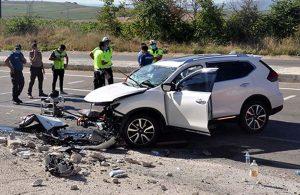 Tekirdağ'da kaza: Sürücü ağır yaralandı, eşi ve 2 kızı öldü